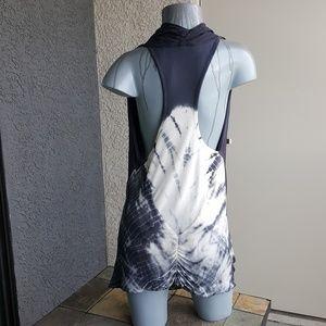 Tie Dye Racerback Dress Young Fabulous Broke